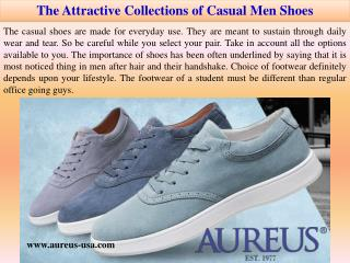 The Attractive Collections of Casual Men Shoes