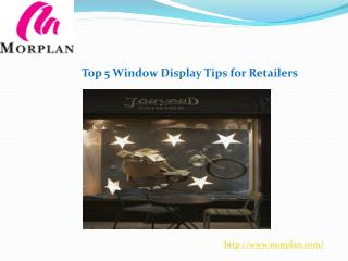 Top 5 Window Display Tips for Retailers