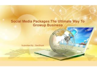 Social Media Packages:The Ultimate Way To Growup Business