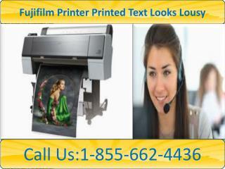 Dial 1-855-662-4436@fujifilm  printer tech support