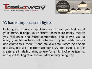 Why We use LED Lights
