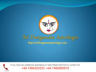Sridurgamata Astrologer- Best Astrologer Uk