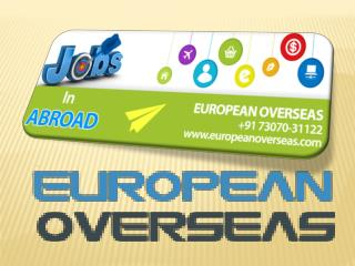 European Overseas Best Visa Consultancy Services In Punjab