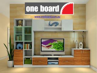 Cabinet Makers Melbourne - One Board