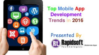 Top Mobile App Development Trends That Drive Business in 2016