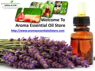 Best organic oils at aromaessentialoilstore.com