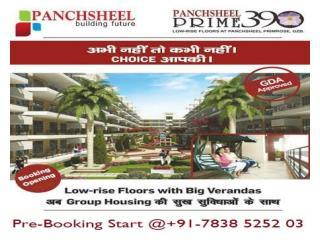Panchsheel Prime 390 -3BHK Low Rise Apts @3999/SQFT in Govind Puram - GZB