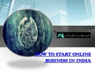 How to start online bussiness in India