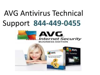 AVG Antivirus Technical Support 844-449-0455