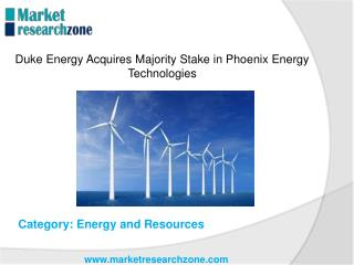 Duke Energy Acquires Majority Stake in Phoenix Energy Technologies
