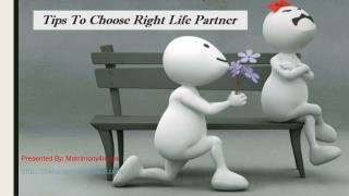 Tips To Choose Right Life Partner.