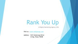 Rank You Up - Digital Marketing Agency USA