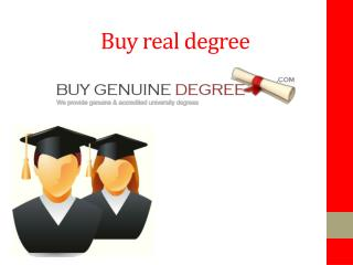 Buy UK degree