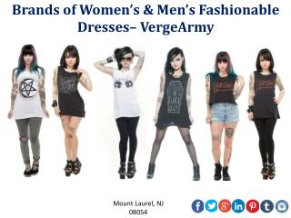 Brands of Women's & Men's Fashionable Dresses– VergeArmy