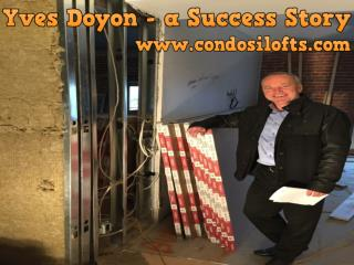 Yves Doyon - a Success Story