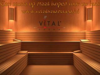 Een sauna op maat kopen voor uw huis