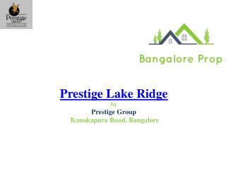 Prestige Lake Ridge Price