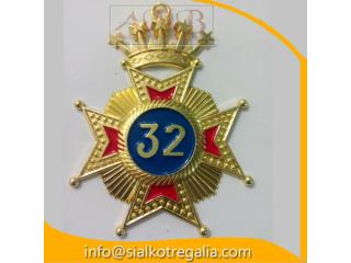 Rose Croix 32 degree jewels
