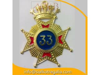 Rose Croix 33 degree jewels