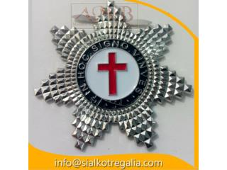 Knight Templar Star Jewels cross