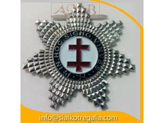 Knight Templar Star Jewels double cross