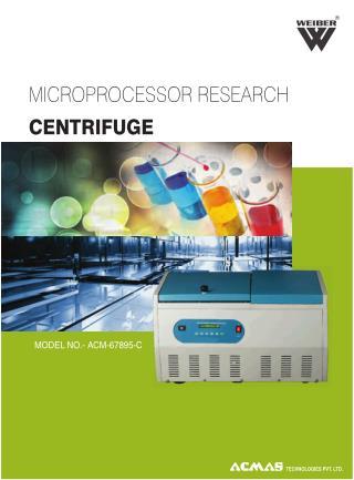 Microprocessor Research Centrifuge