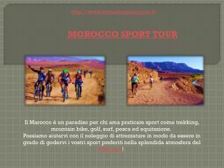 MOROCCO SPORT TOUR