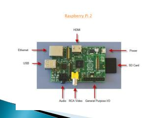 Raspberry Pi 2 Ppt