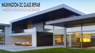 Get Emergency Glass Repair Services | Washington DC Glass Repair