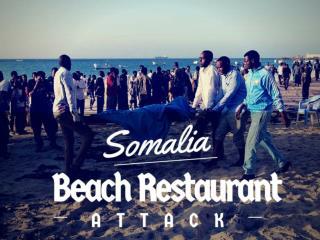 Somalia beach restaurant attack