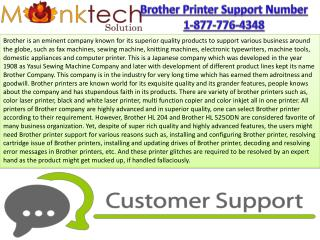 Support for Brother  Printer @!@!@ 1/877/776/4348