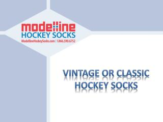 Vintage Or Classic Hockey Socks