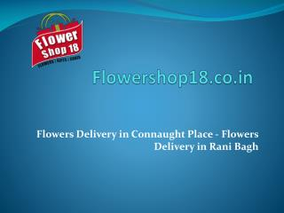 Flowers Delivery in Connaught Place - Flowers Delivery in Rani Bagh