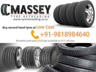 Quality second hand tyre dealers in Noida- MASSEY