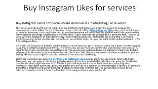 Buy Instagram Likes Followers UK on Free Trial £1.99
