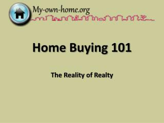Home Buying 101