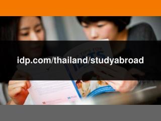 IDP Thailand Powerpoint Presentation