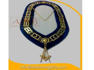 Blue Lodge chain collar SD jewels