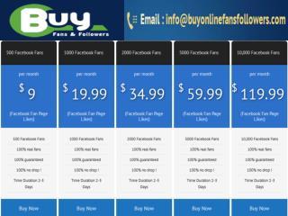 buy facebook fans cheap