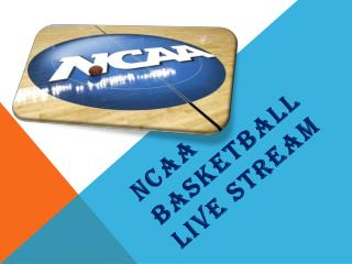 NCAA Basketball Live Stream
