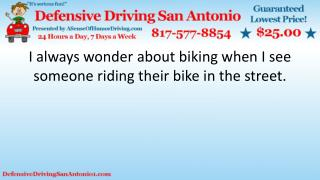 Biking Safety Tips