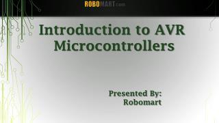 AVR Microcontroller Board - Robomart