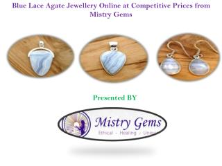 Stylish Blue Lace Agate Jewellery