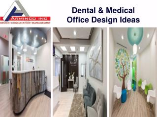 Professional Dental Office Interior Designs DC