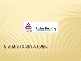 8 Steps to Buy a Home By Alpine Housing