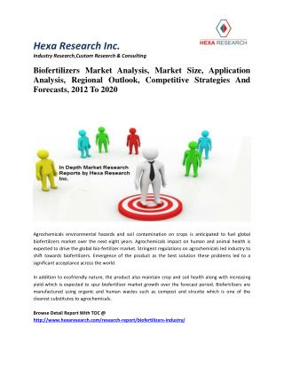 Biofertilizers Market Analysis, Market Size, Competitive Strategies And Forecasts, 2012 To 2020