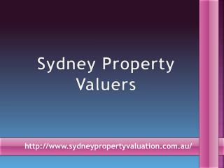 Hire Sydney Property Valuers For Compensation Valuations