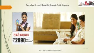 2/3 BHK Homes at Panchsheel Greens II Greater Noida West