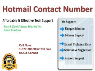 Hotmail contact number  {[1^877^788^9452]} tollfree USA & Canada
