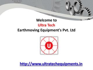 Welcome to ultratech earthmoving equipments
